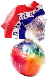 Regenboogbal (per stuk) lik bal
