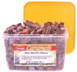 Lonka Caramels Vanille-Choco  2 kilo