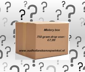 Mistery Box met 750 gram drop
