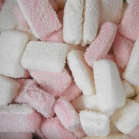Spek cocos roze/wit 500 gram