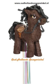 Pinata bruin paard 3d
