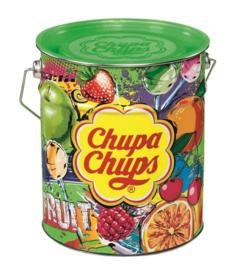 Chupa Chups Fruit (tin) (150 stuks in blik)