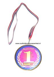 Sugro chocolade medaille NR 1 lauwerskrans (doos 10 stuks)