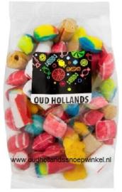 Oud Hollandse mix 200 gram ( stokjes kussentjes)