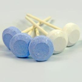 Dextro Lolly Blauw/wit (500 gram)