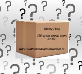Mistery Box met 750 gram snoep