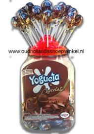 Chocolade chewknots  100 stuks