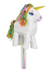 Pinata witte unicorn 3D