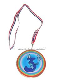 Sugro chocolade medaille NR 3 (doos 10 stuks)