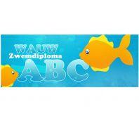 Blikwikkel Zwemdiploma ABC (per stuk)