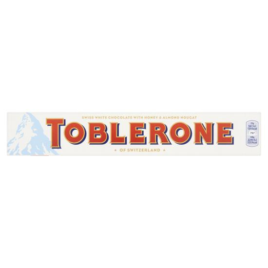 Toblerone wit 100 gram