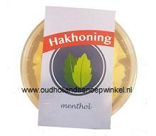 Sufaro dutch Hakhoning menthol bakje 200 gram p/stuk
