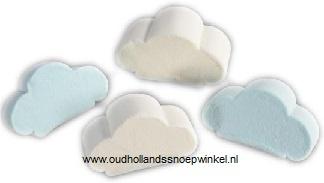 Spek wolken blauw / wit 500 gram
