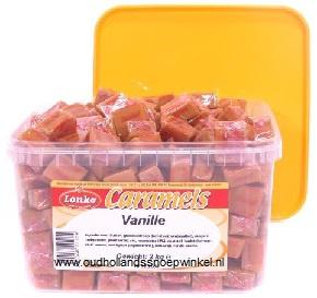 Lonka Caramels Vanille  2 kilo