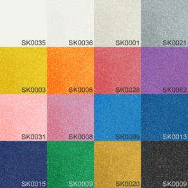 16 x Siser Sparkle - Voordeelpakket 20 x 25 cm