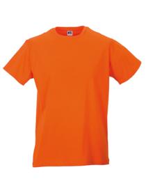 Heren T-shirt Oranje