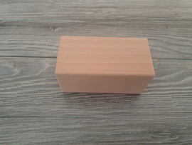 Houten blok 9 x 4,5 x 4,5 cm