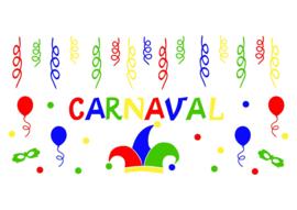 Raamstickers - Carnaval