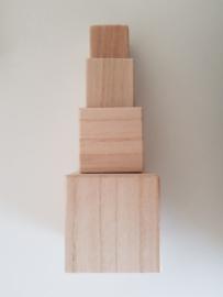 Houten blokken toren (4)
