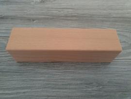 Houten blok 18 x 4,5 x 4,5 cm