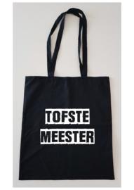 Zwarte tas tofste meester