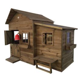 Butterfly houten speelhuis Prestige garden