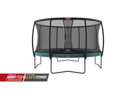 Trampoline Berg Champion 380  Groen + Safety Net Deluxe