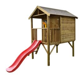 Funny XL Houten speelhuis Prestige garden