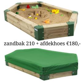 Zandbak 210 + Afdekhoes