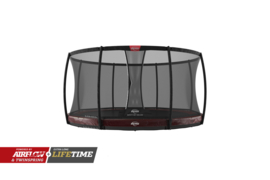 Trampoline Berg Elite+ InGround 330 + Safety Net Deluxe Rood