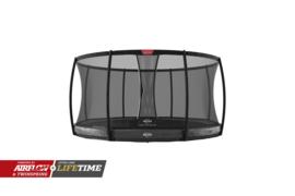 Trampoline Berg Elite+ InGround 330 + Safety Net Deluxe grijs