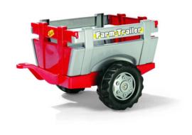 Rolly toys Farm trailer rood