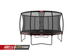 Trampoline Berg Elite+ 430 + Safety Net Deluxe Rood