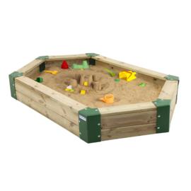 Houten zandbak 210