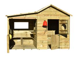 Milaan houten speelhuis Prixma