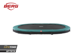 Berg trampoline Inground Grand Favorit 520 Sport groen