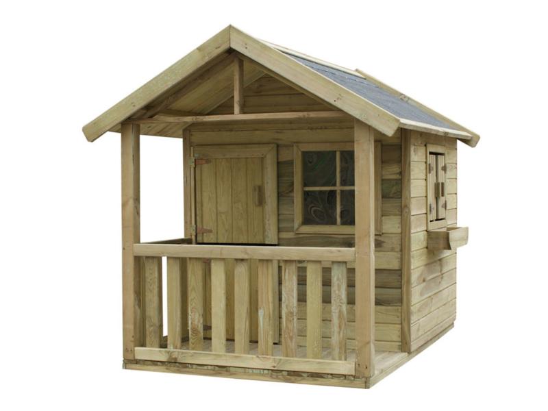 Funny M houten speelhuis Prestige-Garden