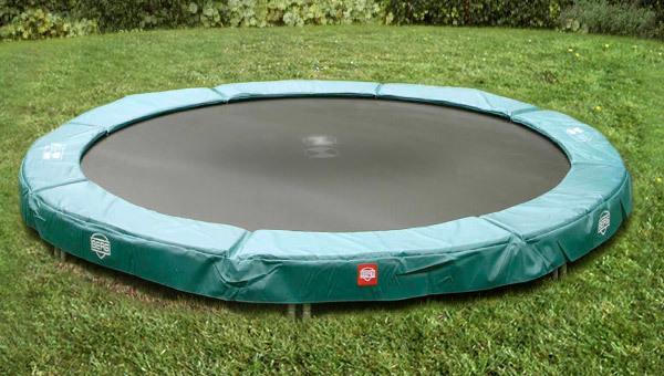 plaats de trampoline
