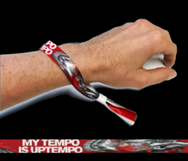 Wristband My Tempo Is Uptempo 2018-04