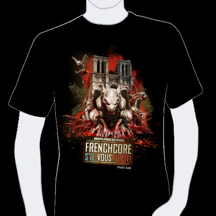 T-shirt Frenchcore SVP 13