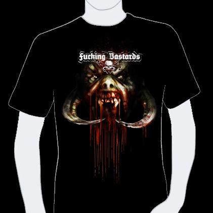 T-shirt Fucking Bastards Records