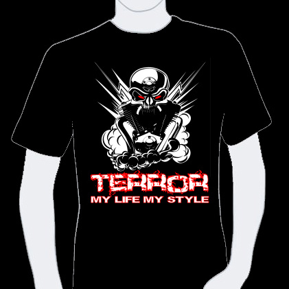 T-shirt Terror 10