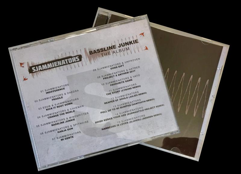 CD Sjammienators - Bassline Junkie The Album
