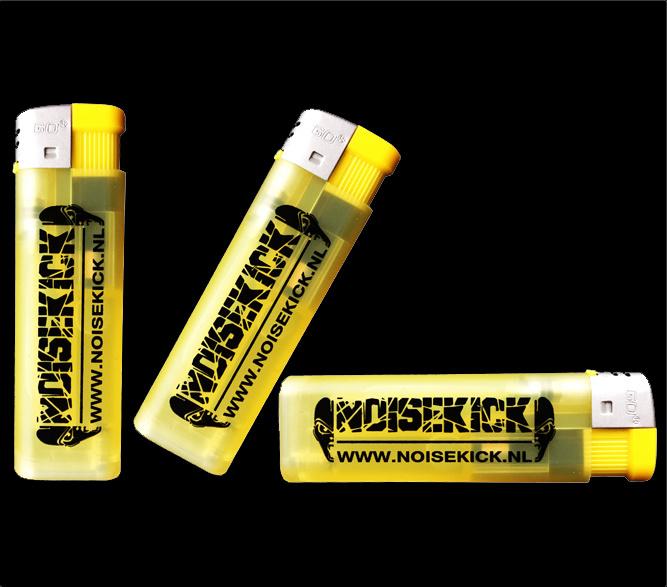 3 Noisekick aanstekers