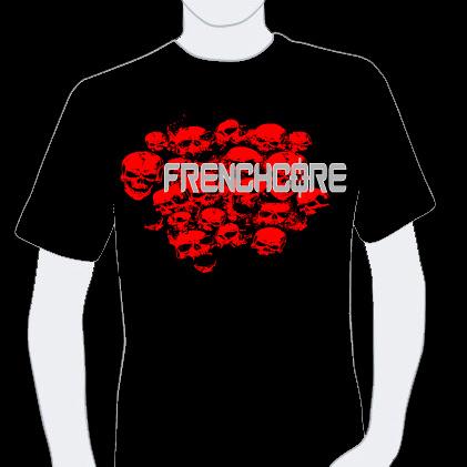 T-shirt Frenchcore 5