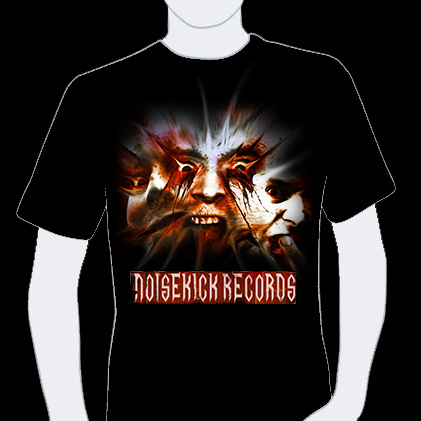 T-shirt Noisekick Records