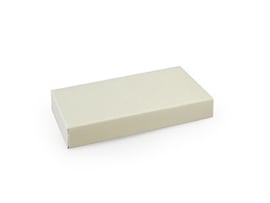 Rechthoekig doosje 1,5x10x5 cm, kleur cotton