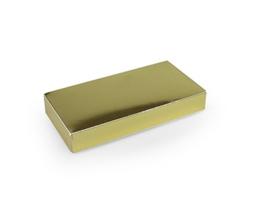 Rechthoekig doosje 1,5x10x5 cm, kleur blinkend goud