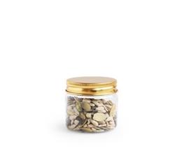 Pet potje met gouden deksel - 50 ml