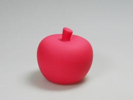 Mini-spaarpot appel kleur rood